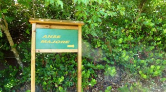 The way to Anse Majore, Mahe Island Seychelles