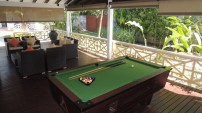 Hotel La Roussette, Seychelles - Billiards Pool Table