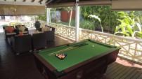 Hotel La Roussette, Seychelles - Billiards Pool Table