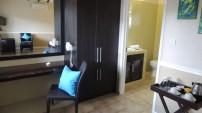 Hotel La Roussette Seychelles Superior Room Desk and Wardrobe