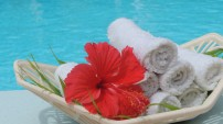 Hotel La Roussette Seychelles Welcome Towels
