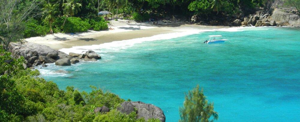 Mahe Island Hiking - Anse Majore beach Hiking trail