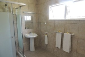 Hotel La Roussette Seychelles - Shower Room and Transit Room near Mahe Airport