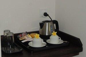 Hotel La Roussette Seychelles - Standard Room Tea & Coffee Making Facilities