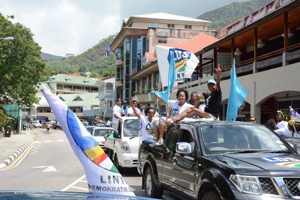 Latest history Linyon Demokratik Election Victory 2016.