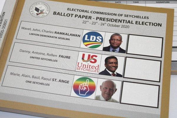 Presedential Elections Republic Seychelles 2020