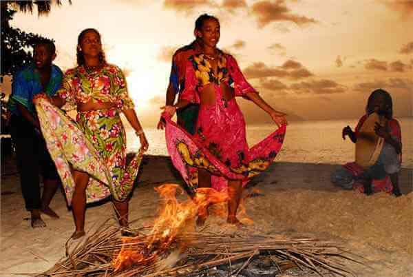 Seychelles moutia dance