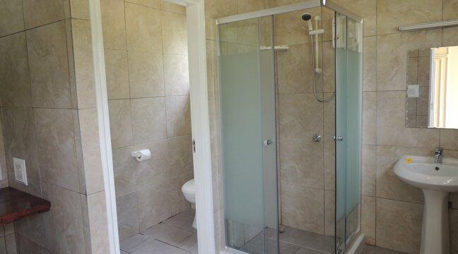 Shower Room Transit Room Hotel La Roussette Seychelles near Mahe Airport