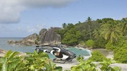 Zilair helicopter transport within Seychelles