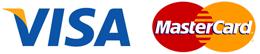 Visa & Mastercard payment options